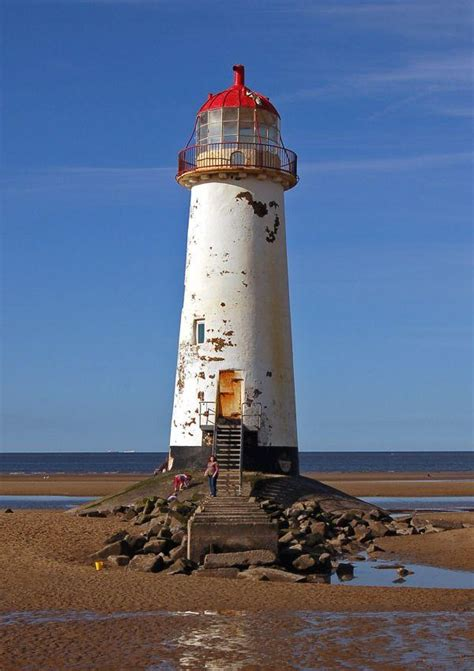 Abandoned Talacre Lighthouse & Ghost Art Installation