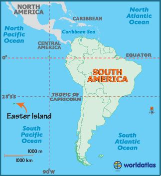 Easter Island Map and Map of Rapa Nui Chile - World Atlas