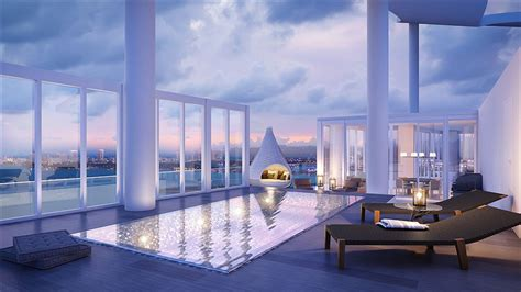 Biscayne Beach's Premier Remaining Penthouse With Sky