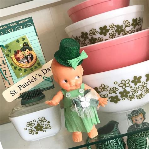 #vintagestpatricksday cutie made by the super talented