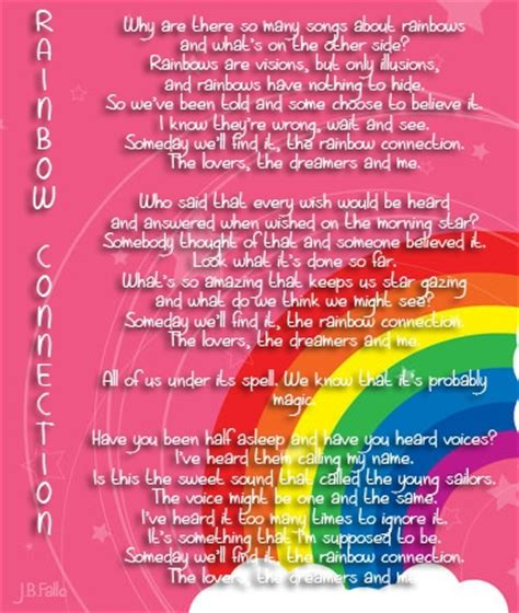 The Rainbow Connection   myloveofthoughts